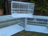 3 x bird breeding cage