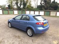 CHEVROLET LACETTI 1.6 cc *AUTOMATIC**35,000 MILES, FULL SERVICE HISTORY, FULLY LOADED*