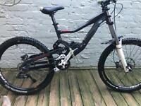 Medium Rocky Mountain downhill full suspension bike