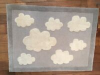 Great Little Trading Company Clouds Nursery Rug