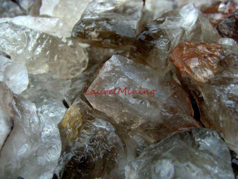 Natural SMOKEY QUARTZ Rough - 3000 CARAT Lots - Semi Precious Gemstone Rough
