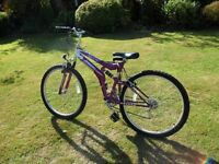 Ladies Mountain Bike Universal Team Sussed 26""