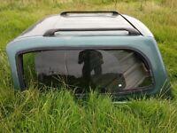 Top Fiber rear canopy for 2005 Izuzu Rodeo D-Max