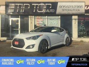 2013 Hyundai Veloster Turbo ** Nav, Backup Cam, Pano Sunroof, Le