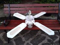 4 BLADE CEILING FAN GOOD CONDITION