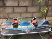 Brand new O'Brien Wakeboard complete with bindings.