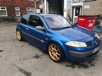 Renault megane 1.9dci spare or repairs running!( astar golf vw ford focus ibiza passat quad)