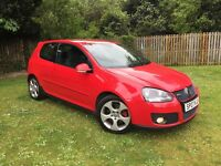 Volkswagen golf 2.0 t fsi gti 2007 mint condition mot 1 YEAR and full service records MUST SEE