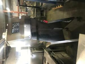 Wells style Giles fsh-2 ventless hood ( like new ) for only $6500 ! Free shipping any where in Canada