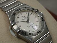 Omega Constellation Ladies Quartz Wristwatch - Stainless Steel