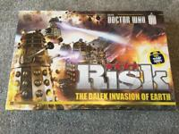 """Doctor Who """"Risk"""" Board Game brand new. Christmas gift idea!"""