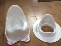 Baby potty & toddler toilet seat