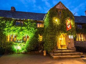 Sous Chef / Chef The Oxenham Arms Hotel 25 mins Exeter, Dartmoor, Okehampton, Devon