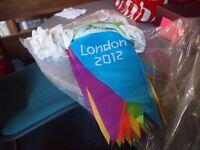 London 2012 Olympics Official bunting memorabilia