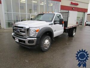 2014 Ford F-550 Super Duty XLT Regular Cab Diesel 4x4 w/12' Deck