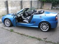 2004 MG TF 1.6 115 Special Limited Edition SE Spark Sonic Blue