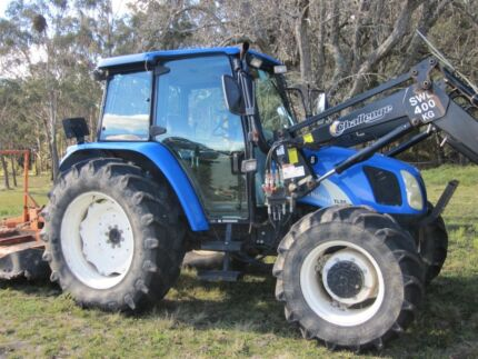 Sold PPU - 2004 New Holland TL90A tractor in very good condition.