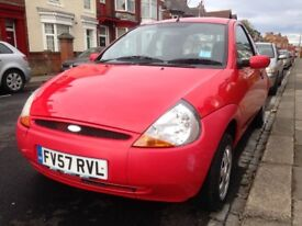 2007 - Ford KA, 1.3 Petrol - Low miles - Cheap insurance - Service history