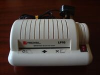 ****Rexel PL10 personal laminator and pouches ****