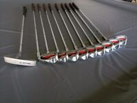 Howson starter golf clubs set (13 clubs including woods, irons, wedges and putter)