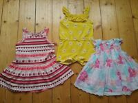 Baby girl summer clothing bundle age 6-9months