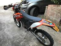 KTM EXC 530 2010 enduro green lane bike