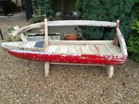 Original Handmade Boat Seat Suitable Inside or Outside