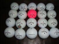 20 Callaway Supersoft Golf Balls