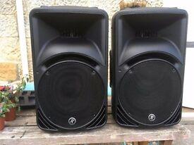 Complete PA system, but can split. Mackie C330z, QSC GX 3, Yamaha Mixing Desk MG16/6fx