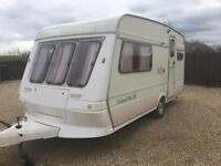 1993 2 Berth fleetwood garland with full awning