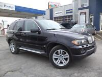 2004 BMW X5  PANORAMIC ROOF PREMIUM PACKAGE BLACK BEAUTY.