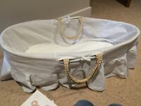 Moses basket for new born baby
