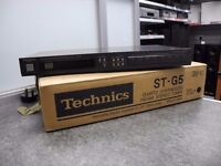 **Technics FM/AM Stereo Tuner Boxed - Turns Off Randomly When Playing**