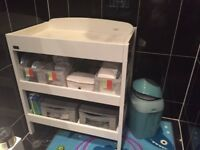 Baby Changing Table and Accessories - Sold Together or Separately