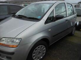 FIAT Idea Active, 125,000 miles, 2005 - 05 Reg
