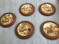 Decorative 'Down on the Farm Wall Plates