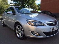 2012 Vauxhall ASTRA 1.7 SRI CDTI 5 DR IN IMMACULATE CONDITION WITH JUST ONE OWNER FROM NEW