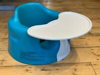 Blue Bumbo with Detachable Tray - Excellent Condition