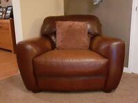 Italian Real Leather Armchair....Free!