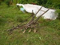 Antique Horse Drawn Harrow