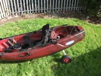 Kayak for sale ideal for fishing