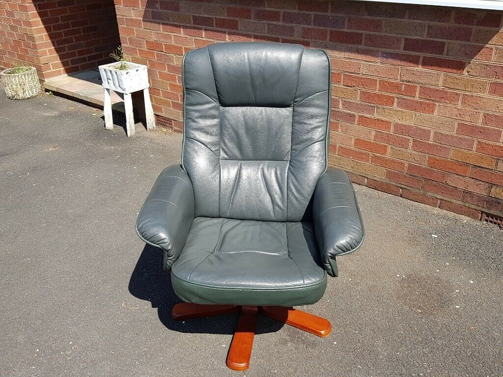 Wondrous Retro Leather Swivel Recliner Designer Chair Modern Home Office Study Shop Decor Display Use Comfy In Stourbridge West Midlands Gumtree Onthecornerstone Fun Painted Chair Ideas Images Onthecornerstoneorg