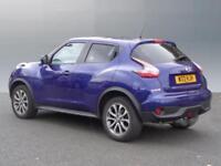 Nissan Juke TEKNA DIG-T (blue) 2014-09-12