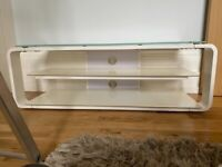 TV stand glass top (John Lewis)