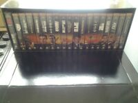 James Bond Widescreen Video Collection boxset plus additional films for sale.