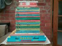 Retro/ vintage annuals and ladybird books