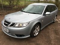 SAAB 9-3 SPORTWAGON ESTATE ** 60 PLATE ** 103K MILES ** SPECIAL EDITION