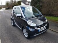 Smart Fortwo 1.0 MHD Passion 2dr,very low millage,full history