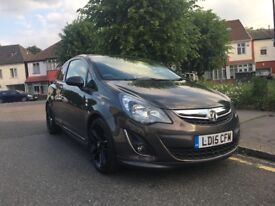 2015 Limited Edition Vauxhall Corsa 1.2