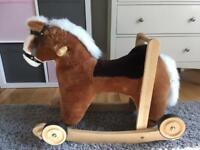 Mulholland and Baillie Hand Made Rocking Horse